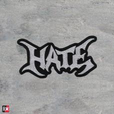 Вышитая нашивка - Hate